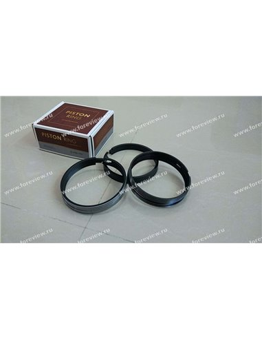 Кольца поршневые Shacman WP12 Foreview 612600030054